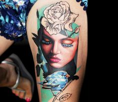 Woman Tattoo by Dave Paulo | Tattoo No. 13566