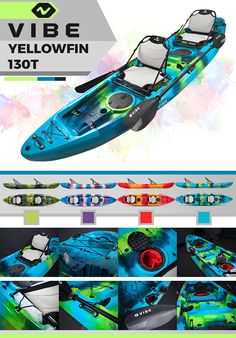 Win a kayak package from Vibe Kayaks