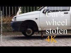 Car's wheel stolen (English). Roda do carro roubada (Portuguese). Resolution: 4k UHD 2160p. ___ Watch the youtube.com/animalsinternet video at: https://www.youtube.com/watch?v=DzxFy8aAR9I. ___ subscribe like favorite comment follow share retweet repin email.