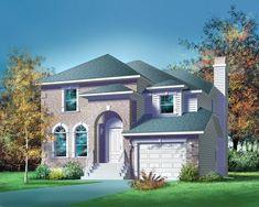 Traditional Design, Traditional House, Mediterranean House Plans, Monster House Plans, Surface Habitable, Construction, Modern House Design, Architecture, Plan Design