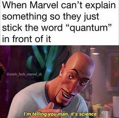 Really Funny Memes, Stupid Funny Memes, Funny Relatable Memes, Haha Funny, Funny Stuff, Hilarious, Funny Marvel Memes, Dc Memes, Marvel Jokes