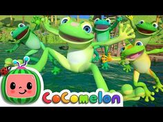 We have put together a collection of fun frog games and activities for kids. These ideas are great for doing a frog theme at school or just having fun on Frog Activities, Preschool Themes, Toddler Preschool, Frog Games, Baby Songs, Fun Songs, 5 Speckled Frogs, Rhymes For Toddlers, Frog Song