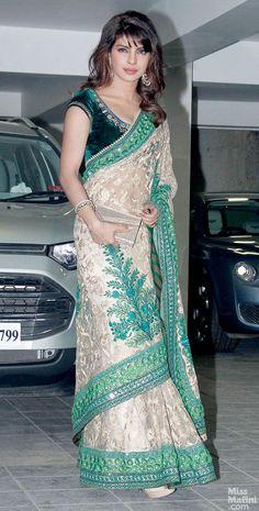 Priyanka Chopra at Aamir Khan's 2013 Diwali Party