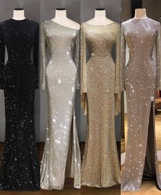 Description Product Name Elegant silver trumpet sleeve sexy fishtail evening dress SKU Material Polyester Type Casual Occasion Date/Vacation/Daily Life Product no. Please Note All dimensions are measured manually with a deviation of 1 to Elegant Dresses, Sexy Dresses, Beautiful Dresses, Fashion Dresses, Prom Dresses, Formal Dresses, Sparkle Dresses, Halter Dresses, Unique Dresses