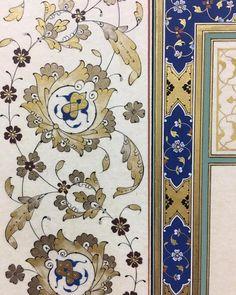 #hayirlicumalar #islamicart #tezhip #gelenekselsanatlar #hatsanatı Islamic Art Pattern, Pattern Art, Islamic Paintings, Turkish Art, Islamic Art Calligraphy, Stencil Designs, Painting Patterns, Traditional Art, Decoupage