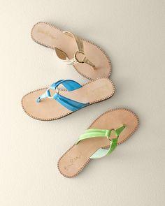 Lilly Pulitzer® O-Ring McKim Sandals