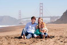 Family Portraits at Baker Beach San Francisco | Mark Tantrum ...