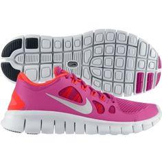Nike Girls' Grade School Free 5.0 Running Shoe