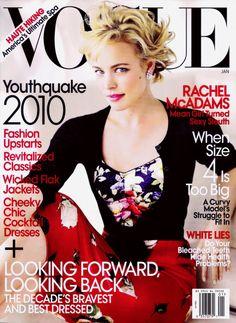 Vogue: Rachel McAdams/January 2010
