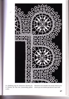 Geklöppelte Reticella Needle Lace, Bobbin Lace, Weaving Patterns, Lace Making, Hand Embroidery, Tatting, Free Pattern, Crochet, How To Make
