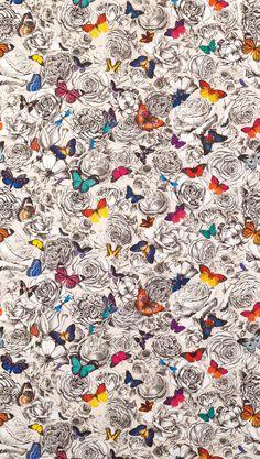 Favorite Fabrics: Butterfly Garden by Osborne & Little