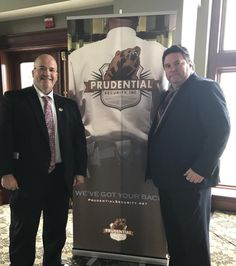 Prudential Security's Terry Miller and Jason Hartless at the #DMAA general membership luncheon. #PrudentialSecurity #SecurityGuard #SecurityOfficer #SecurityCompany #Security