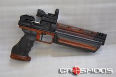 A Crosman 1322 Multi-Stoke spring loading air gun, .22cal, totally modded by Crosmods company
