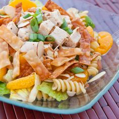Wonton Chicken Salad