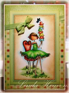 Stamping bella Uptown girls Isabelle Loves her Ice cream - Google Search