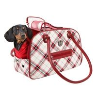 Luxury dog tote from Puppia