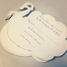 Laser cut rsvp cards! #wedding #weddinginvitation #peacock
