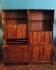 Mid century Danish rosewood wall unit in Bedford , Brooklyn ~ Apartment Therapy Classifieds