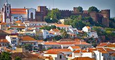 Cidade de Silves no Algarve #viagem #lisboa #portugal