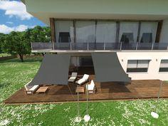 Outdoor Decor, Home Decor, Sun Sails, Solar Shades, Privacy Screens, Decoration Home, Room Decor, Home Interior Design, Home Decoration