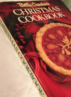 Betty Crocker's Christmas Cookbook dated 1988 by by WhisperThePast