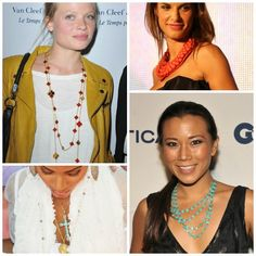 The look of layered necklaces is an ongoing hot trend!