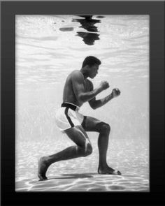 Framed Cassius Clay MUHAMMAD ALI Glossy 8x10 Photo Print Boxing Poster Plastic$19.99