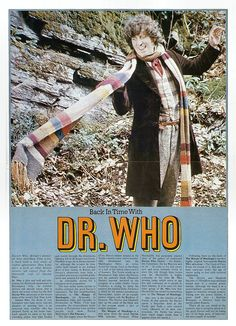Doctor Who From TV Sci-fi Monthly 8 1976 by combomphotos, via Flickr