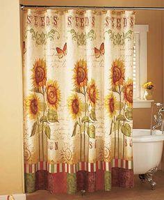 Sunflower Shower Curtain @ Lakeside