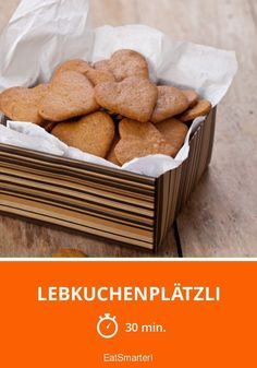 Lebkuchenplätzli - smarter - Zeit: 30 Min. | eatsmarter.de