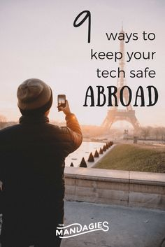 In the age of cameras, Instagram, and GoPros, tech abroad can be exciting! Read how to keep tech safe while traveling!