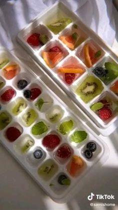Fun Baking Recipes, Snack Recipes, Dessert Recipes, Cooking Recipes, Fruit Smoothie Recipes, Smoothies, Yummy Drinks, Yummy Food, Boat Food