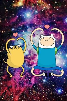 Image shared by Фикши. Find images and videos about galaxy, adventure time and finn on We Heart It - the app to get lost in what you love. Cartoon Cartoon, Cartoon Hair, Cartoon Shows, Finn Jake, Abenteuerzeit Mit Finn Und Jake, Cartoon Network, Marceline, Adventure Time Wallpaper, Jake Adventure Time