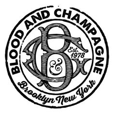Follow Blood & Champagne logo