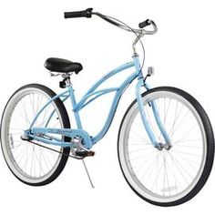 Blue Women's Beach Cruiser Bike