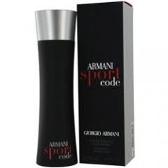 ARMANI CODE SPORT by Giorgio Armani EDT SPRAY 4.2 OZ