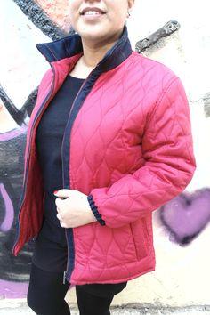 Chaqueta reutilizada y tuneada Winter Jackets, Creative, Blog, Fashion, Clothing, Winter Coats, Moda, Winter Vest Outfits, Fashion Styles