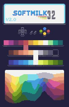 Hi My name is Morten, and I enjoy creating Pixelart as a way of relaxing, I have a lot of unused stu Sprites, Pixel Art Background, Pixel Color, Pixel Animation, Pixel Art Games, Pixel Design, Palette, Animation Tutorial, Rainbow Art