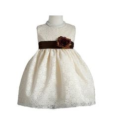 Classy 862 Sleeveless Special Occasion Embroidered Flower Girl Dress - Ivory 8T Crayon Kids,http://www.amazon.com/dp/B00B5Q0HN8/ref=cm_sw_r_pi_dp_civNrb2873544E9C