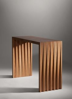 Wooden oak console table by Cillian O'Suilleabhin Furniture