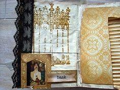 altered book, steampunk   - dee dee @brownpaperpackaging