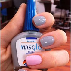 Famosa con Masglo Fun Nails, Pretty Nails, Beauty Nails, Beauty Makeup, Manicure Y Pedicure, Nail Decorations, Nail Trends, Nail Designs, Nail Polish
