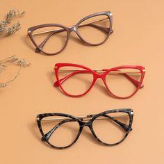 Glasses Trends, Online Eyeglasses, Stylish Sunglasses, Cat Eye Glasses, Womens Glasses, Vintage Glamour, Prescription Lenses, Eyewear, Tortoise
