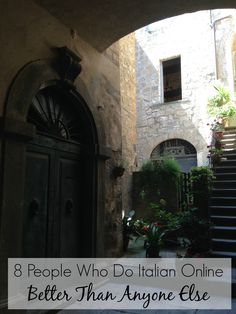 8 People Who Do Italian Online Better Than Anyone Else Learn Italian Online, Learn To Speak Italian, Italian Language, Learning Italian, Italy Travel, Florence, Rome, People, Cher