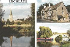 #retweet #postcards Postcard LECHLADE ON THAMES Gloucestershire Multiview #RT 50% OFF when you Buy 3+