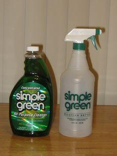 Win one 32 oz. bottle of CONCENTRATED Simple Green and Spray Bottle! #Giveaway #Green