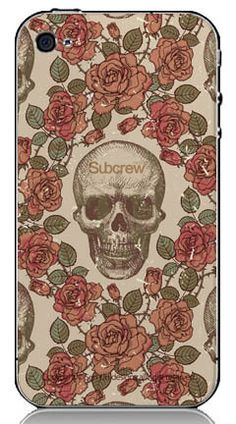 iphone case with skull