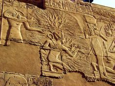 Tree of Life from The Great Hypostyle Hall at Karnak from the 19th dynasty