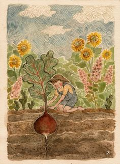 Gardening by Phoebe Wahl