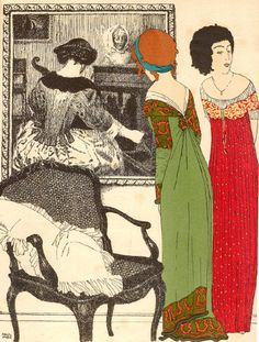 Les Robes de Paul Poiret - Paul Iribe (1908)